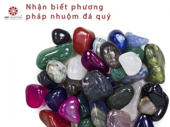 Nhận biết đá quý nhuộm màu