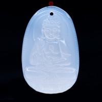 MDC Đức Phật A Di Đà Mã Não trắng bản mệnh tuổi Tuất, Hợi