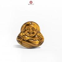 MDC Phật Di Lặc Đá Mắt hổ vàng tự nhiên, size nhỏ
