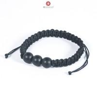 Vòng tay Mala Obsidian Nhám size 10mm BMLOBS07